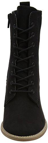 Dorothy Perkins Damen Amethyst Lace up Combat Boots Schwarz