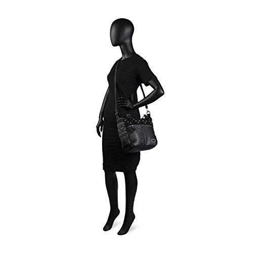 Albany en T negro shopping Bolso para polipiel SKPA mujer 0twOqdO