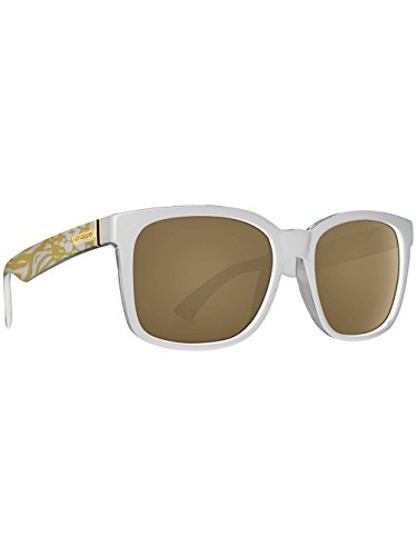 Von Zipper Howl Party Animals Sunglasses in White Gold - Zipper Sunglasses Von White