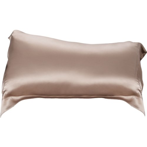 Aus Vio 100-Percent Silk 2-Piece Pillow Cases, King/California King