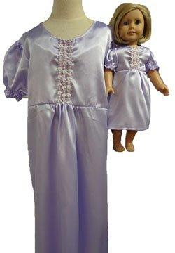 一致する少女と人形ラベンダーNightgownサイズ4 B00ZO86MEG B00ZO86MEG, 地球雑貨 アースヴィレッジ:865ea5cf --- arvoreazul.com.br