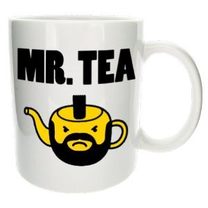 'MR.TEA' Funny Office Tea Gift Mug.