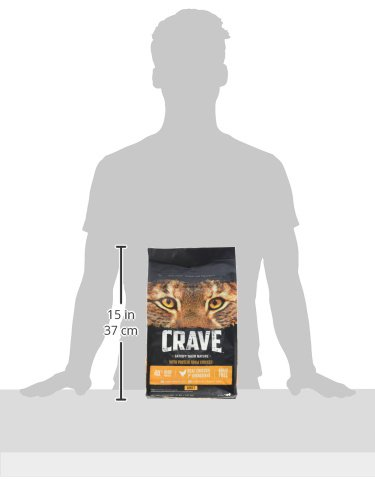 CRAVE Grain Free High Protein Dry Cat Food 12
