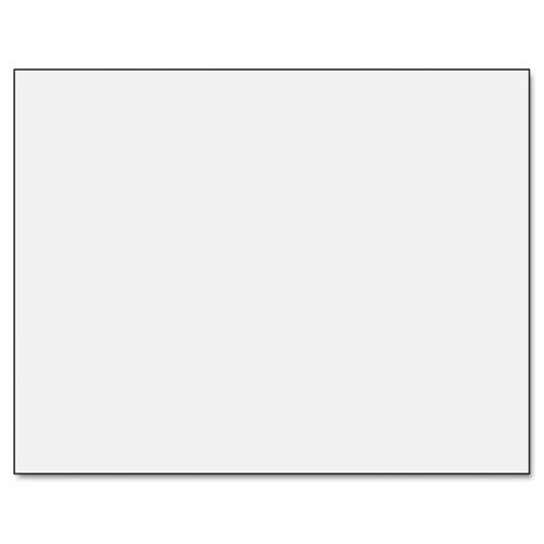 Six-Ply Poster Board, 28 x 22, White, 25/Carton, Sold as 1 Carton by Pacon