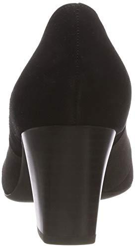 Bout Noir Suede Fermé Femme schwarz 240 Kaiser Peter Dorna Escarpins qwTxqR14