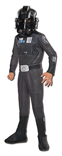 Cool Con Comic Ideas Costume (Rubie's Costume Star Wars Rebels Tie Fighter Pilot Child Costume,)