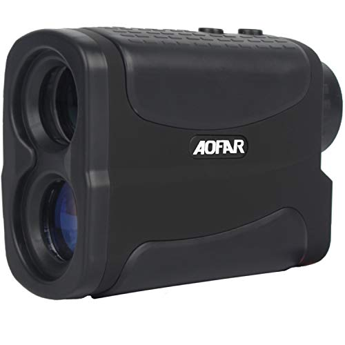 AOFAR Hunting Archery Range Finder-700 Yards Waterproof Rangefinder for Bow Hunting with Range Scan Fog and Speed Mode, Free Battery, Carrying Case (Best Bowhunting Rangefinder 2019)