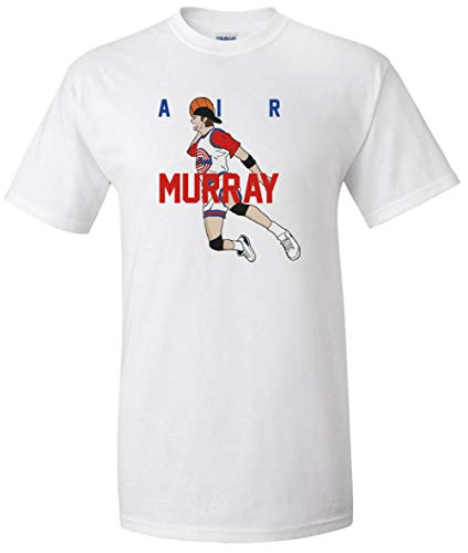 White Bill Murray Space Jam AIR T-Shirt Adult -