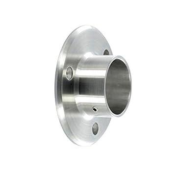Montaje Frontal hembra para tubo, acero inoxidable AISI 304 ...