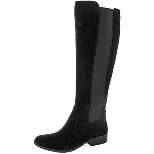 Jessica Simpson Women's Ricel 2 Knee High Leather Boot Black Size 5