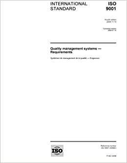 ISO 9001:2008, Quality management systems - Requirements