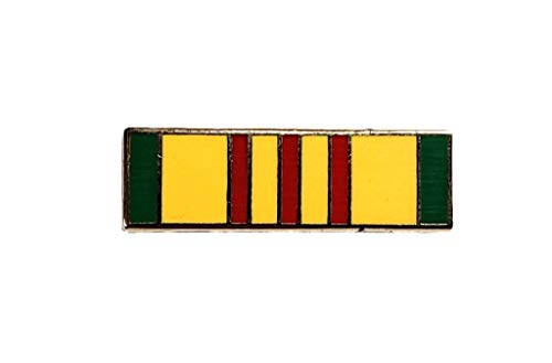 (Vietnam Veteran Ribbon Lapel Hat Pin Marines Army Navy Air Force PPM791)