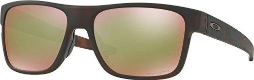 Oakley Crossrange Polarized Sunglasses,Brown