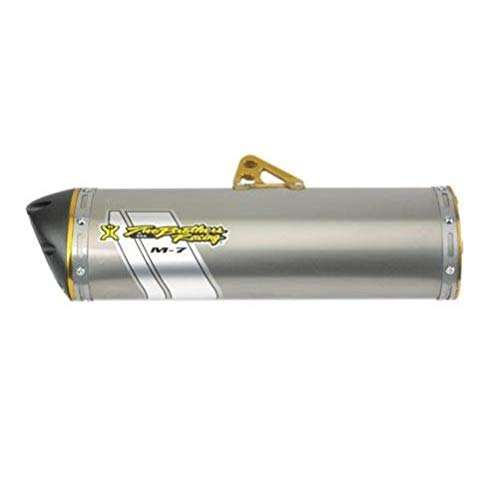 - Two Brothers Racing(005-2960406V) Stainless Steel M-7 Aluminum Canister Slip-On Exhaust System