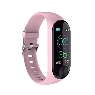 YUYOUG Fitness Tracker 0 96 quot LCD Color Screen Smart Wristband Bracelet Sport Watch Fitness Activity Heart RateMonitor Blood Pressure IP67 Calories Pink Estimated Price £13.49 -