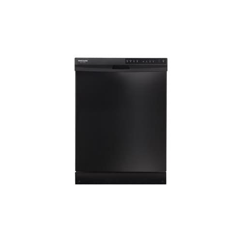Frigidaire FGBD2434PB 24'' Black Full Console Dishwasher - Energy Star by Frigidaire