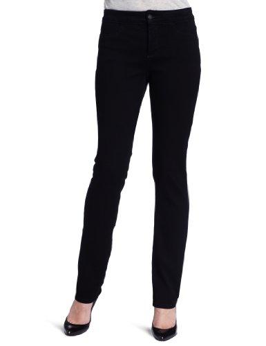 NYDJs NYDJ Women's Petite Janice Jeans Legging Jeans, Bla...