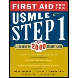 First Aid for USMLE Step 1 (00) by Bhushan, Vikas - Le, Tao - Chu, Anthony - Amin, Chirag - Choo, E [Paperback (2000)]