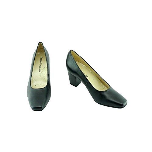 Zapatos de Tacón Negro Azafatas Orson 2 C-Negro