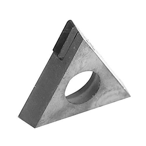 Diamanteinsatz, 600-1100 MPa TBGT060102 TBGT060104 PCD Diamanteinsatz Schneidklinge CNC-Drehwerkzeug zur Verarbeitung von Aluminiumlegierung Kupferlegierung Glasfaser(104)