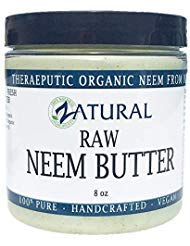 Naked Neem Organic Neem Butter with Organic Neem Oil, Extract and Leaf Calm Sensitive Skin, Itchy Skin and More Handcrafted...