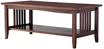 Linon Mission Coffee Table (Espresso)