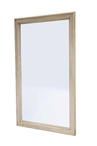 Ashley Demarlos Floor Standing Mirror in Parchment White -  - mirrors-bedroom-decor, bedroom-decor, bedroom - 31p0s3HmsWL -