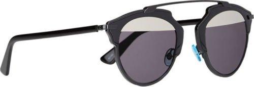 60b2abaf530f3 Dior SO REAL Sunglasses PALLADIUM MIRROR Black Rihanna + Olivia ...