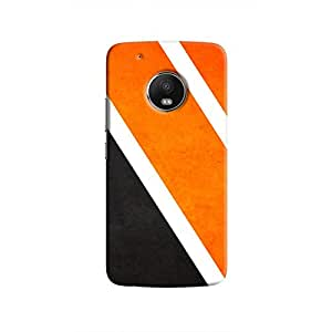 Cover It Up Orange Tile Hard Case For Moto G5 Plus, Multi Color