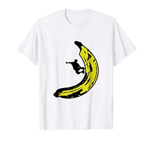Skateboarding On A Banana T-Shirt