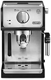 De'Longhi ECP35.31 Macchina da Caffè Espresso Manuale e Cappuccino, Caffè in Polvere o in Cialde E.S.E., Argento