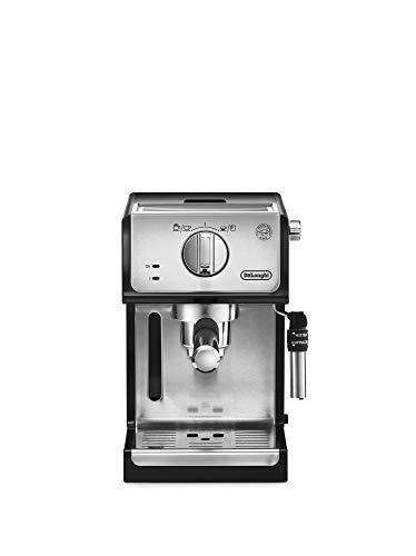 De'longhi – Cafetera de Bomba Tradicional para Espresso y Cappuccino, Admite Café Molido y Monodosis, 2 Tazas…