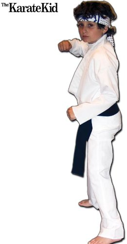 The Karate Kid Daniel-San Deluxe Kids Costume (Karate Kid Costume)