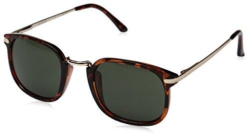 A.J. Morgan Mister Rectangular Sunglasses, Tortoise, 50 mm
