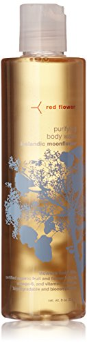 Red Flower Icelandic Moonflower Purifying Body Wash, 8 - Red French Flower Body Wash Lavender