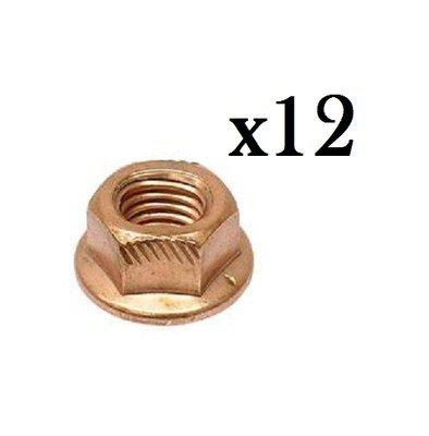 Copper Lock Nut (8 mm) - Exhaust