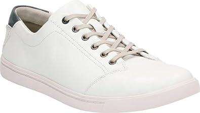 Clarks Men's Newood Street Sneaker,White Leather,US ...