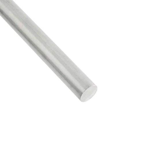 RMP 6061 Aluminum Round Bar, 1 Inch Diameter, 36 Inch Length, Unpolished (Mill) Finish, T6 Temper, 1 PK ()