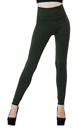 D&K Monarchy Full Leggings Dark Green (Slimming) (0 - 12)