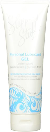 Water Based Silky Safe Longlasting Personal Lubricant Gel By Slippery Stuff 8oz (Gel Silky)