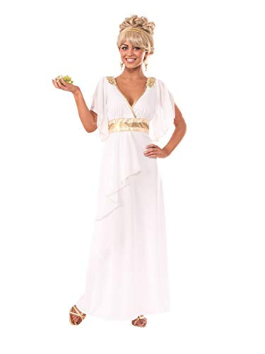 Rubie's Women's Grecian Adult Costume Dress, Multi, Standard -