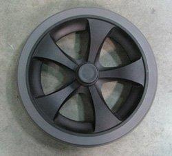 REAR WHEEL 8'' GREY FOR NOVA 348/349 MODELS - PVT-RW100A