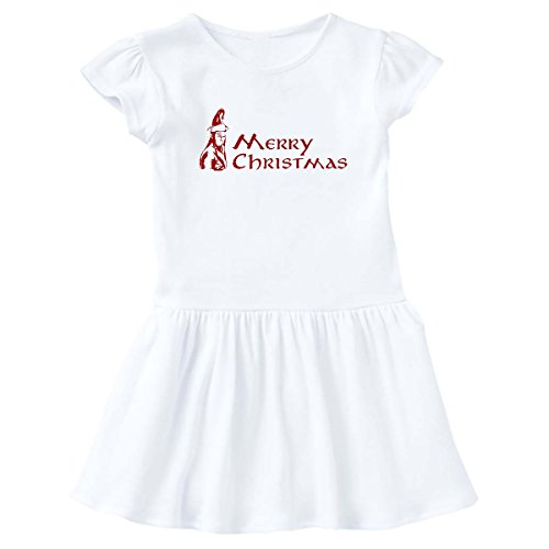 inktastic - Elven Christmas Infant Dress 24 Months White e9f4 -
