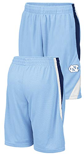 - NCAA Youth Team Color Rio Polyester Athletic Shorts (XL=20, UNC Tar Heels)