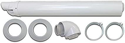 Vaillant - Kit horizontal caldera ecotec 60/100 codo pequeño