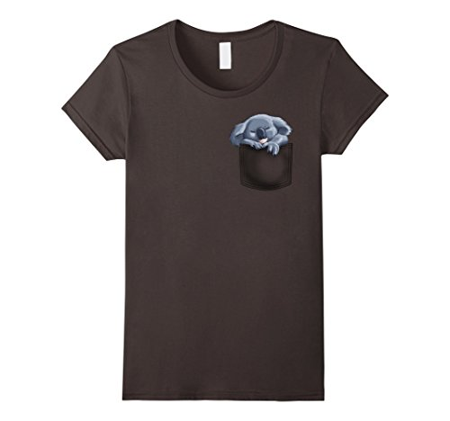 Women's Koala pocket t-shirt Small (Small Koala)