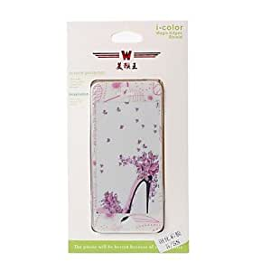 Buy Beautiful High Heels Pattern Color Shining Screen Protective Film Stick By Yourself for iPhone 5/5S