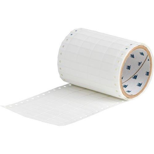 Brady HSCPS-0.9-5008-WT, 68538 BradySleeve Dot Matrix Printer Sleeve, Roll of 500 pcs by Brady