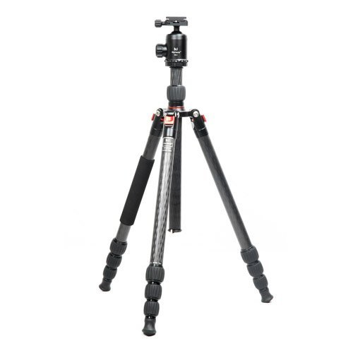 Marsace BT-2541T Reversable Carbon Fibre Tripod Portable Compact Kit by MARSACE