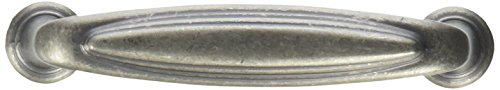 Rounded Mulholland Pull - Weathered Nickel (Set of 10)